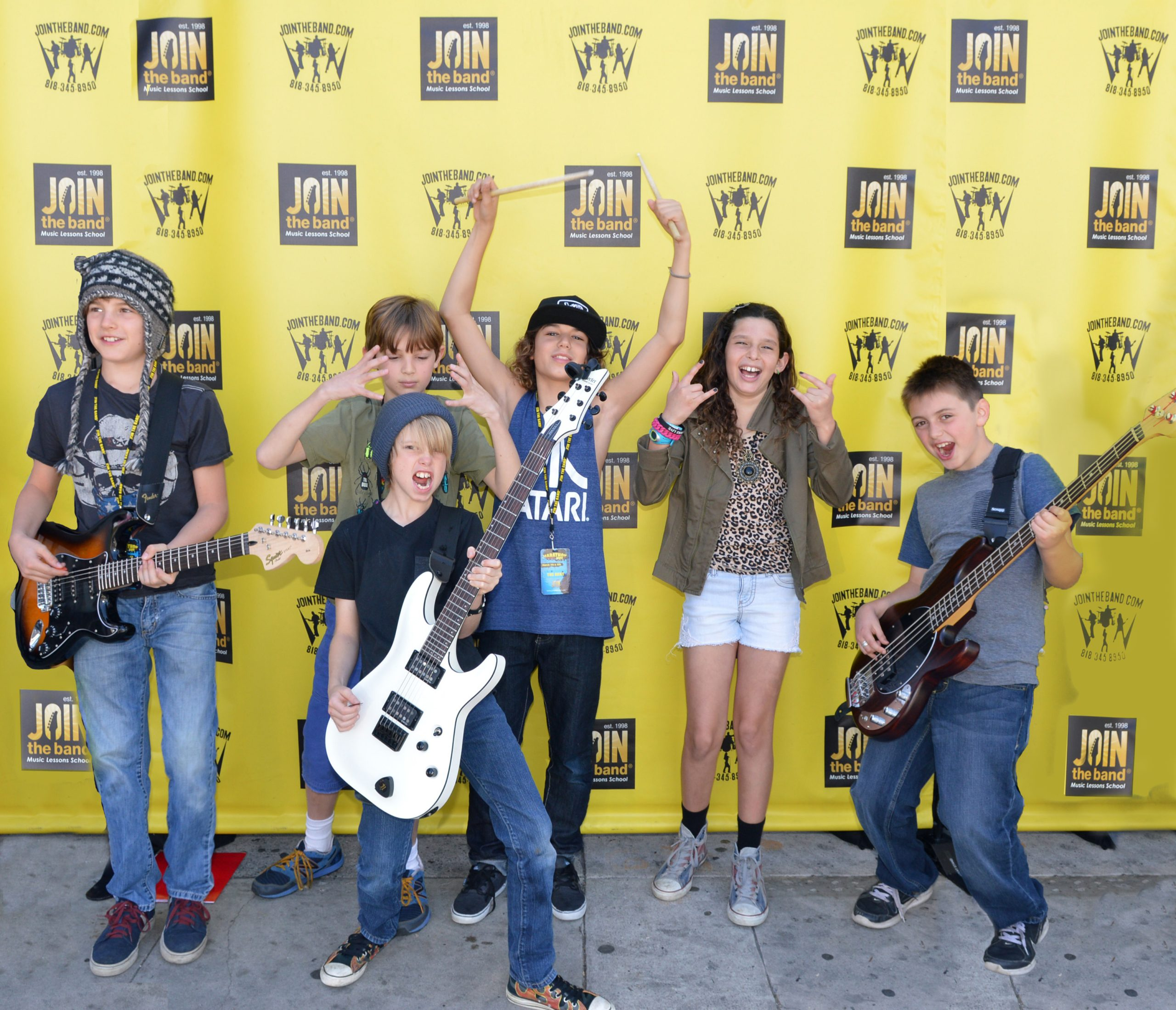 Kids Teens Rock Band Join the Band