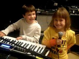 1 Kids band practice - join the band