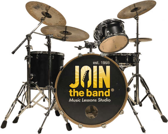 Join The Band Drumset with Logo