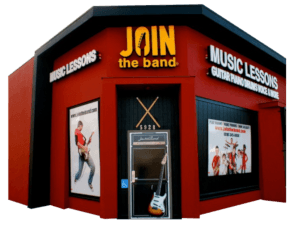 Join The Band Studio Front