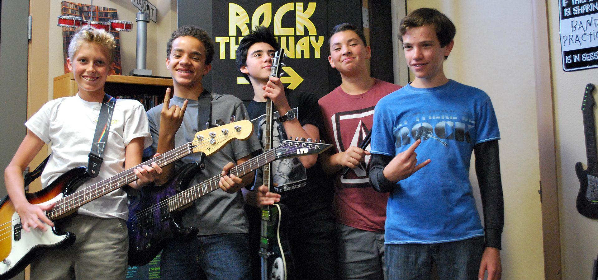 Rock Band Music Camp - Boys Band - Sherman Oaks, Los Angeles - Join The Band