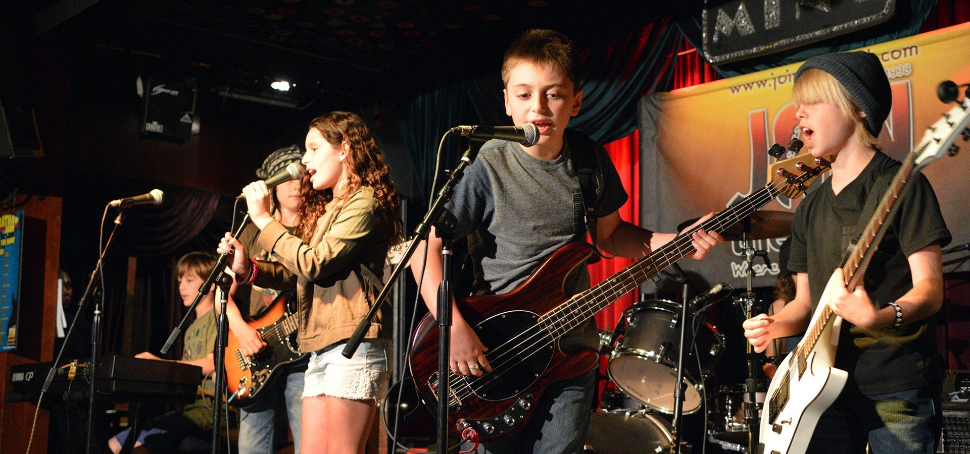 Summer Band Program - Rock Band Music Camp - 5 Kids - Sherman Oaks, Los Angeles - Join The Band