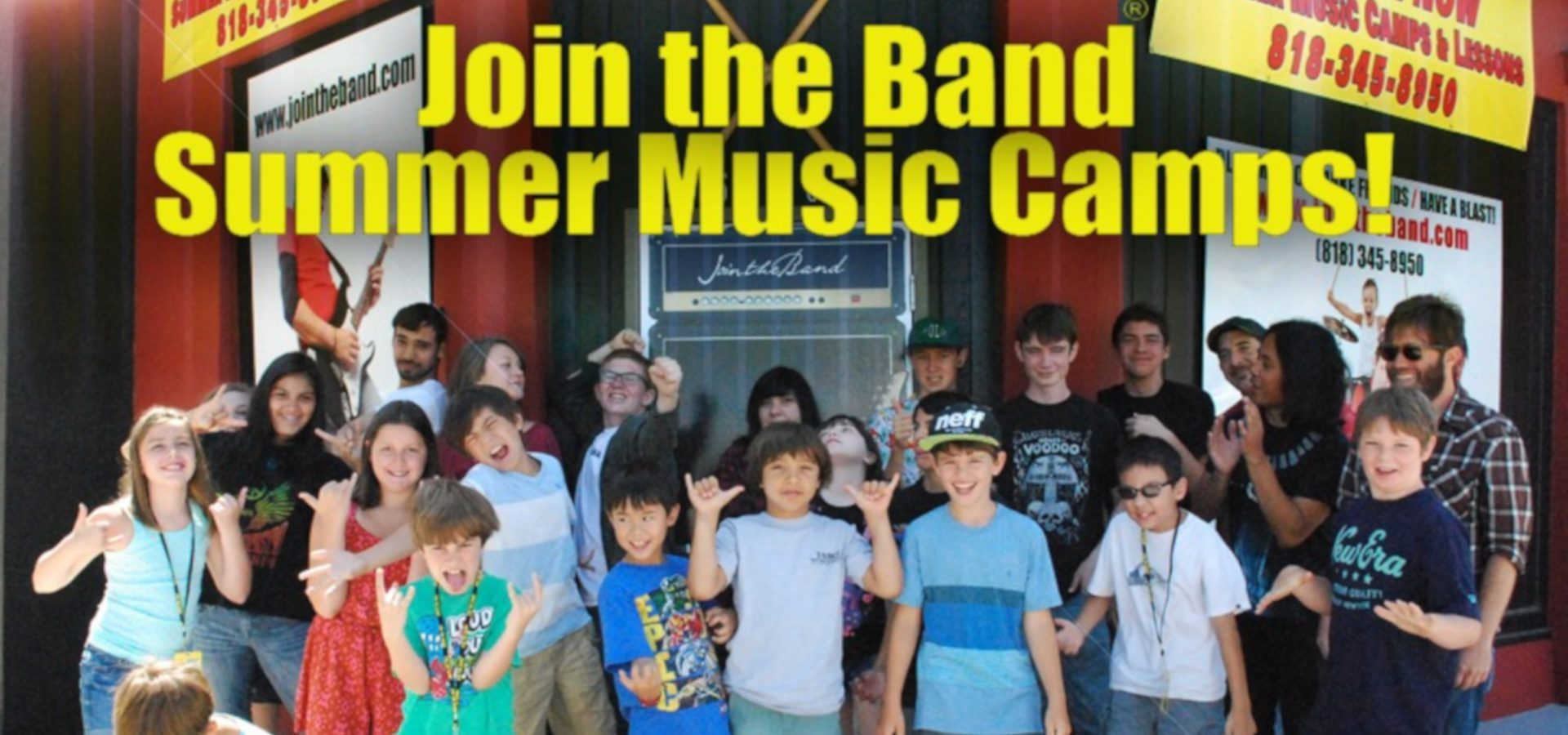Summer Music Camps - Middle School - Sherman Oaks, Los Angeles - Join The Band