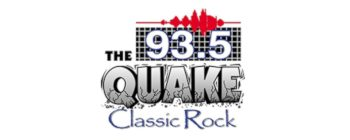 93.5 The Quake Classic Rock Logo