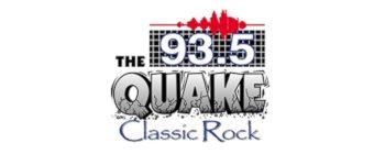 93.5 The Quake Classic Rock Logo