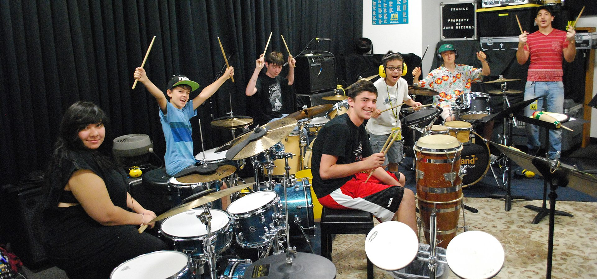 Drum Music Camp - Drummers - Sherman Oaks, Los Angeles - Join The Band