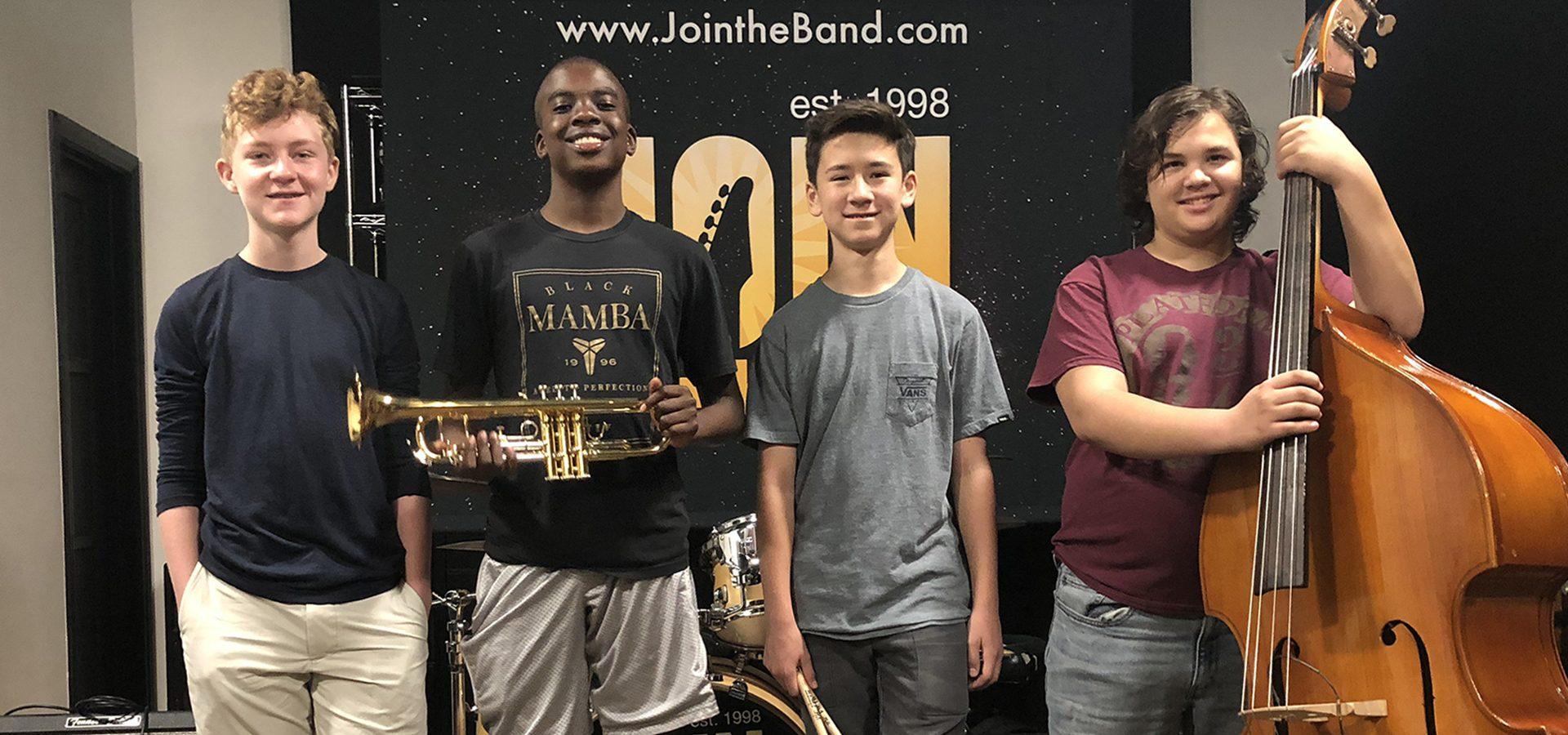Jazz & Blues Music Camp - Quartet - Sherman Oaks, Los Angeles - Join The Band