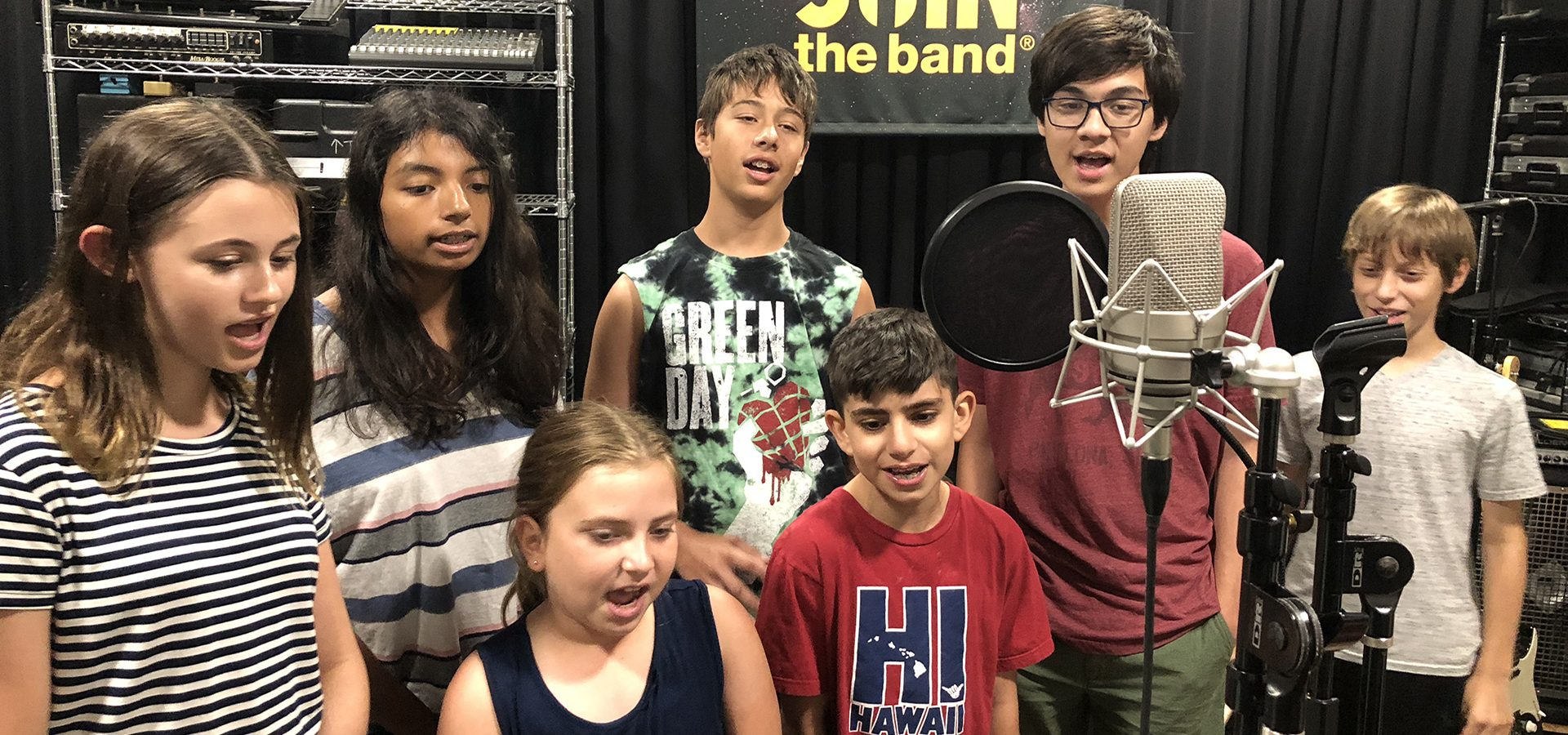 Recording Music Camp - Group Singing - Sherman Oaks, Los Angeles - Join The Band