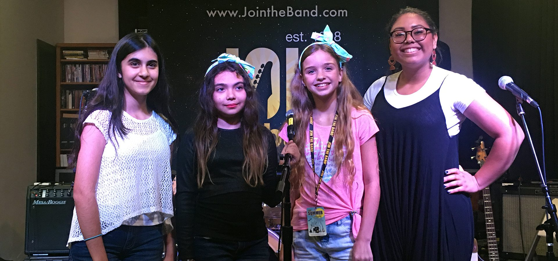 Singing Music Camp - 4 Girls - Sherman Oaks, Los Angeles - Join The Band