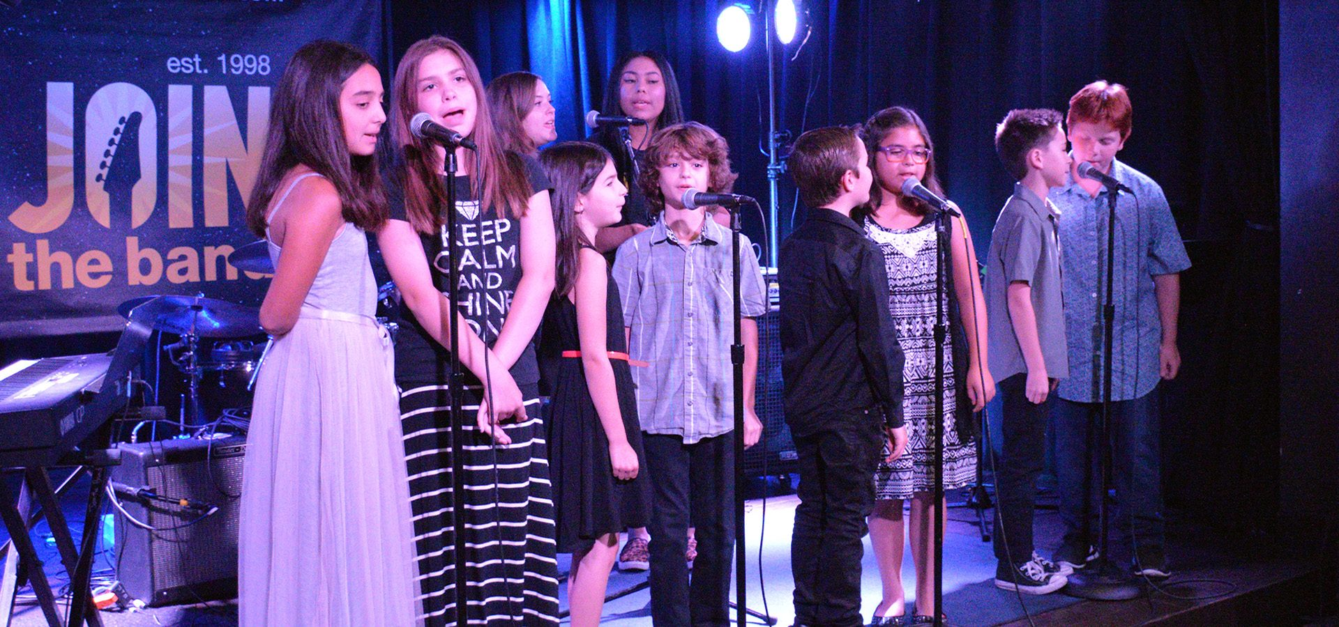 Singing Music Camp - Group - Sherman Oaks, Los Angeles - Join The Band