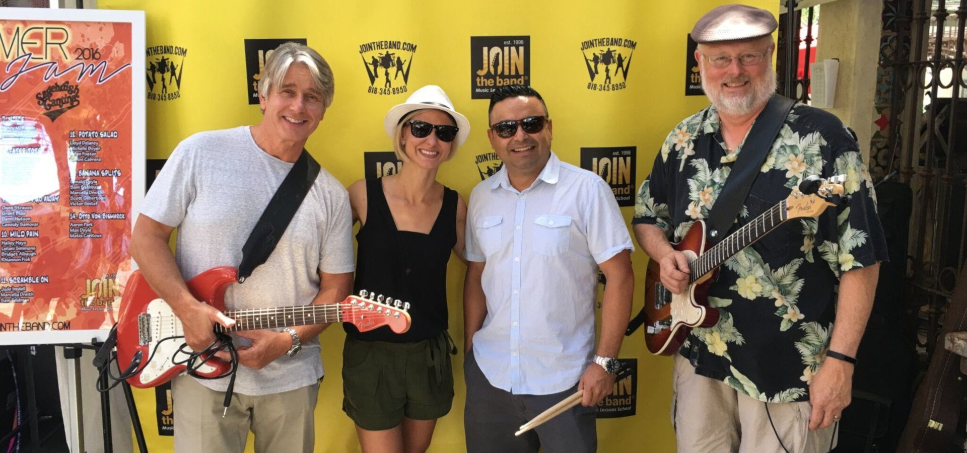Summer Jam 2016 - Adult Band - Sherman Oaks, Los Angeles - Join The Band