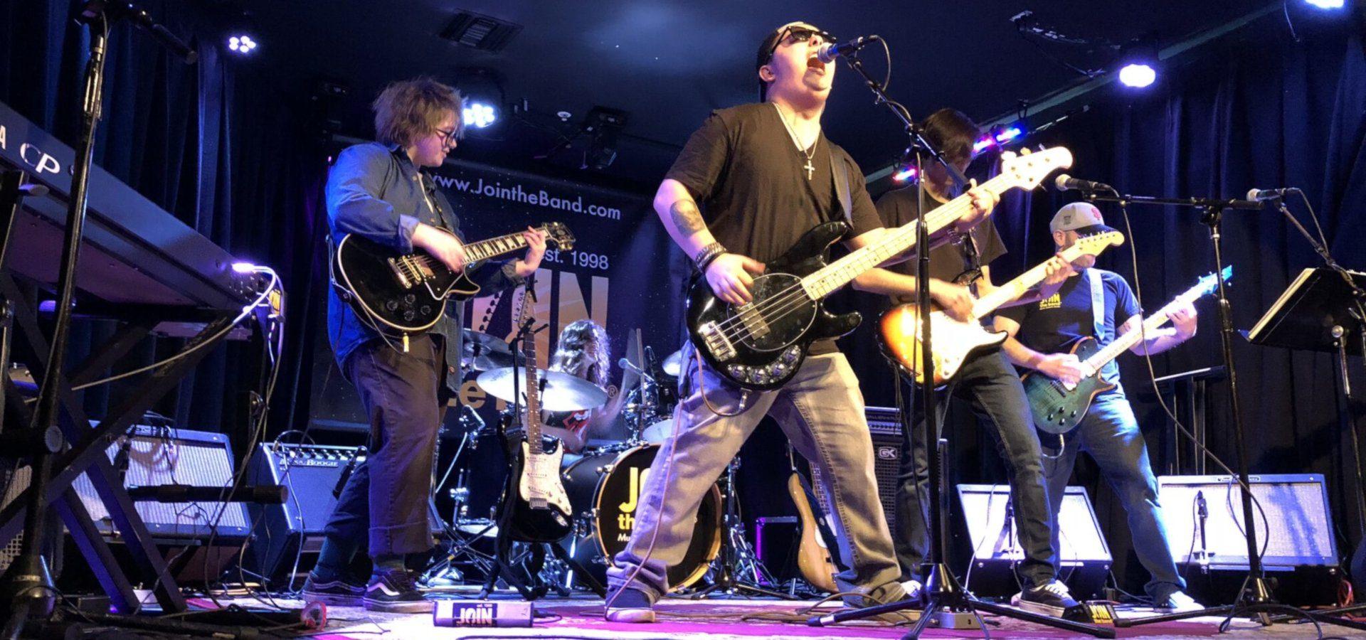 Teen Rock Band - Sherman Oaks, Los Angeles - Join The Band