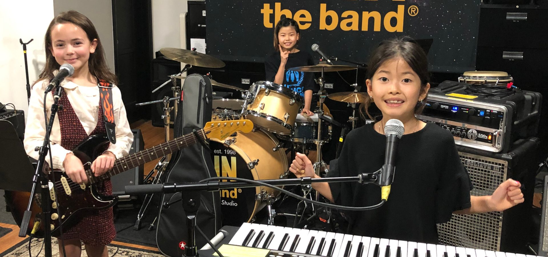 Kids Rock Band - Music Camp - Sherman Oaks, Los Angeles - Join The Band