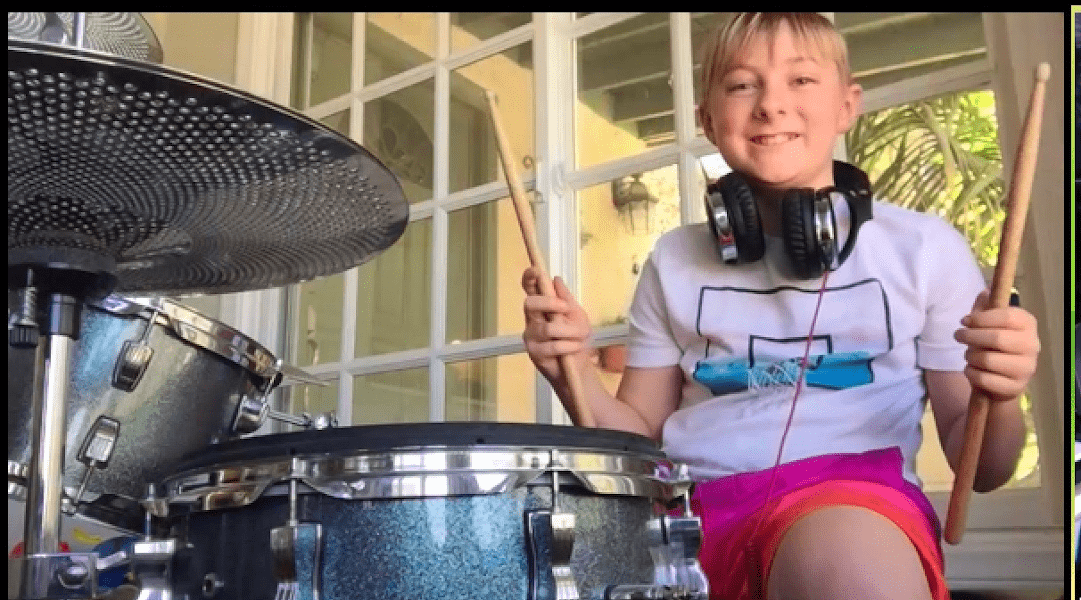 Online Music Lessons - Playing Drums - Sherman Oaks, Los Angeles - Join The Band